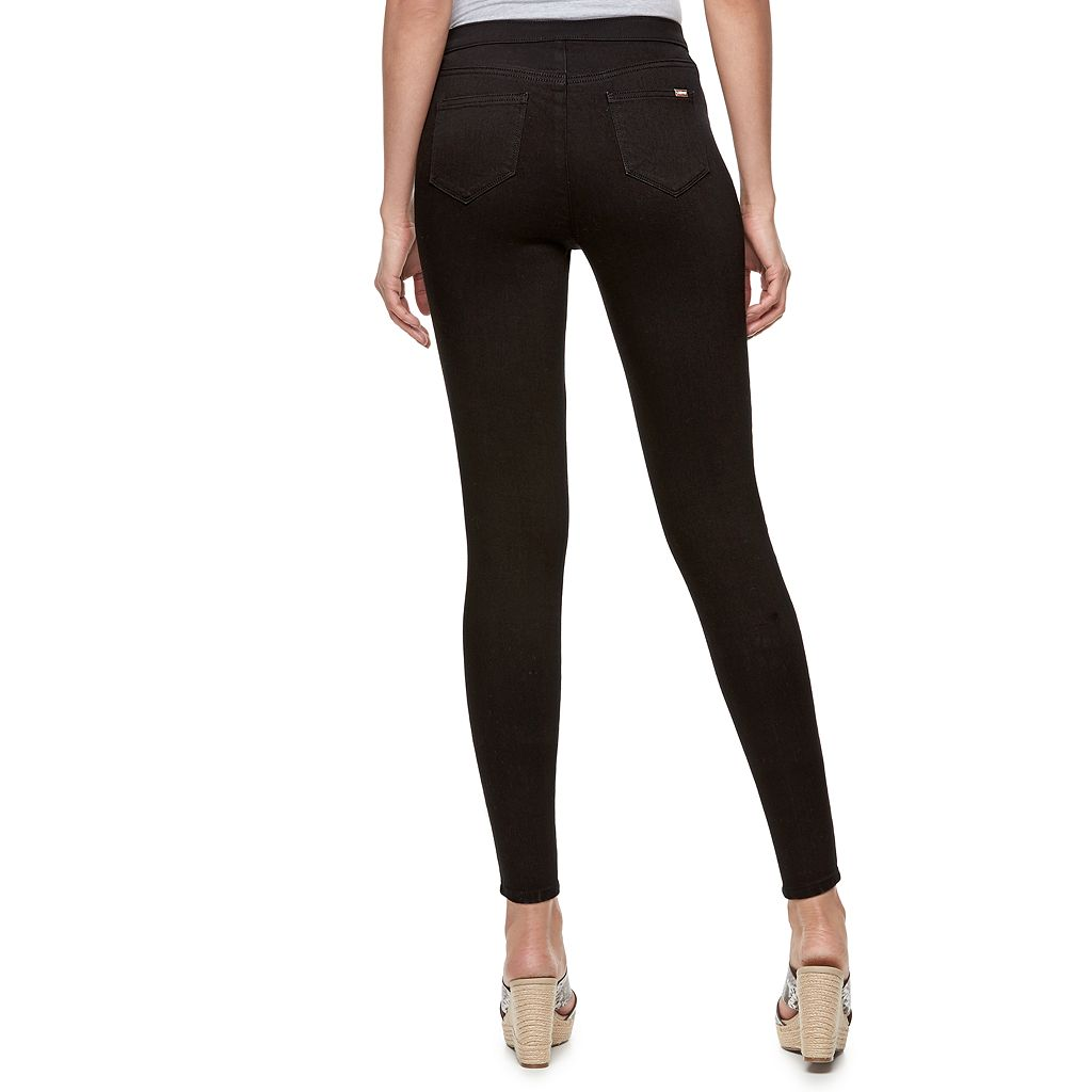 Plus Size Jennifer Lopez Destructed Jeggings