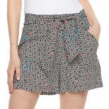 Women's Apt. 9® Print Soft Shorts