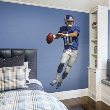 New York Giants Eli Manning Real Big Wall Decal by Fathead