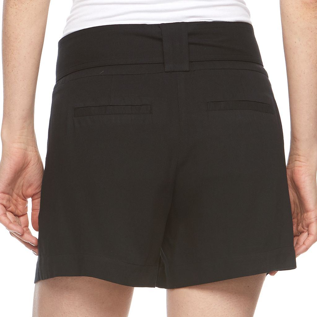 Women's Apt. 9® Black Soft Shorts
