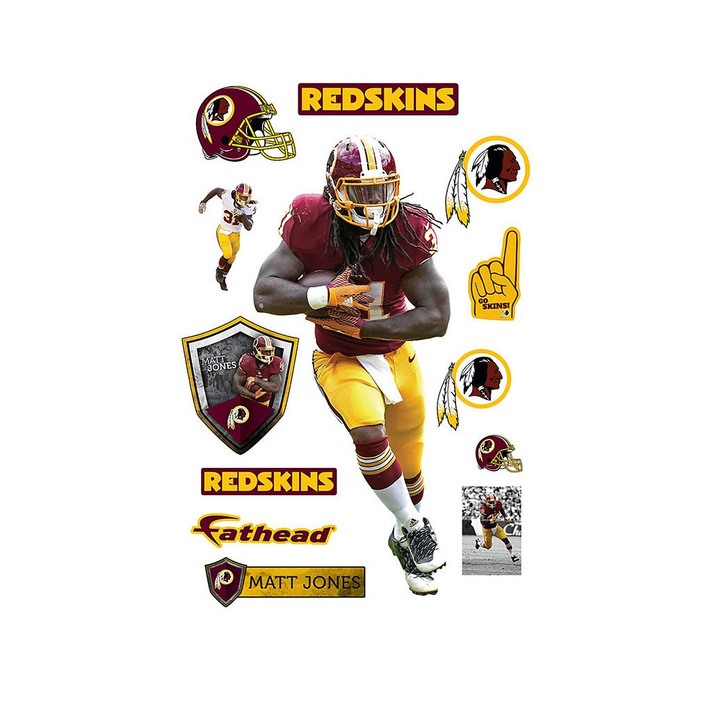 Washington Redskins Matt Jones Wall Decal by Fathead