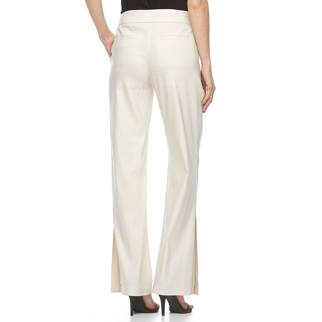 Women's Apt. 9® Linen-Blend Dress Pants