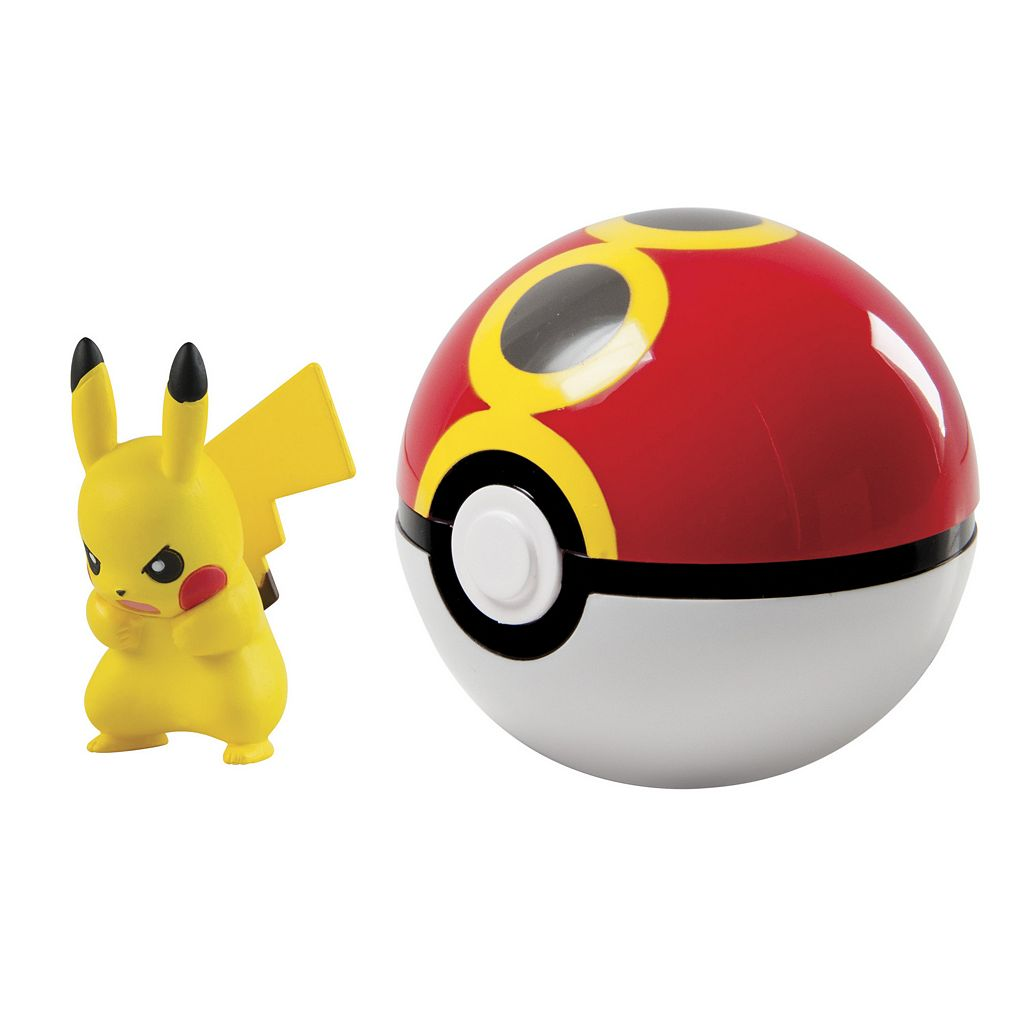 Pokémon Clip 'N' Carry Repeat Poké Ball & Pikachu Figure Set