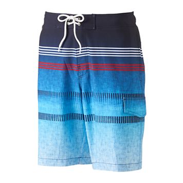 Men's SONOMA Goods for Life™ Striped Stretch Swim Trunks