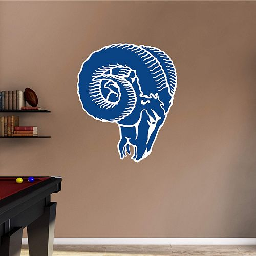 Los Angeles Rams Classic Logo Wall Decal by Fathead
