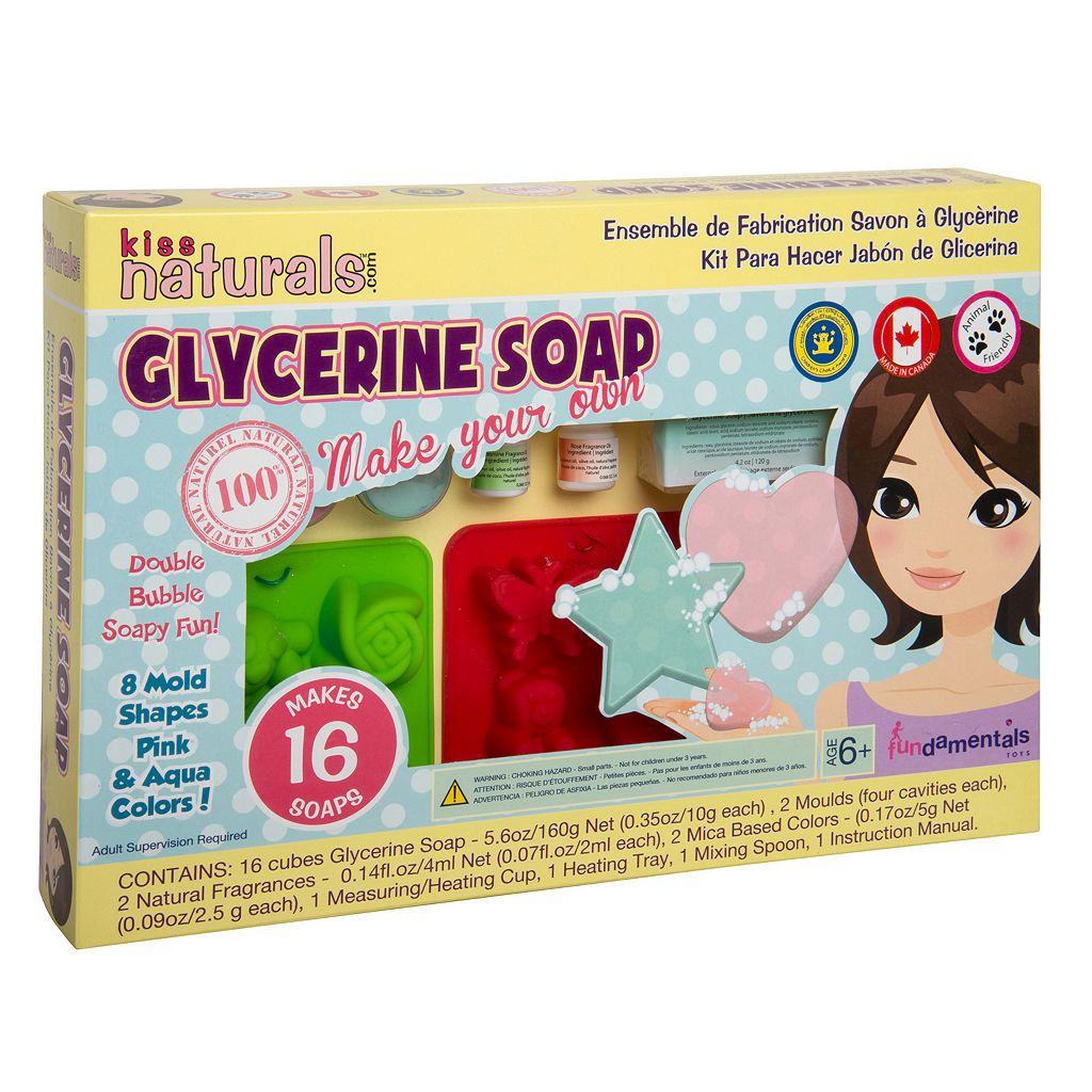 Fundamentals Toys Kiss Naturals DIY Soap Making Kit