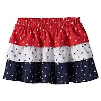 Toddler Girl Jumping Beans® Star Print Tiered Skort