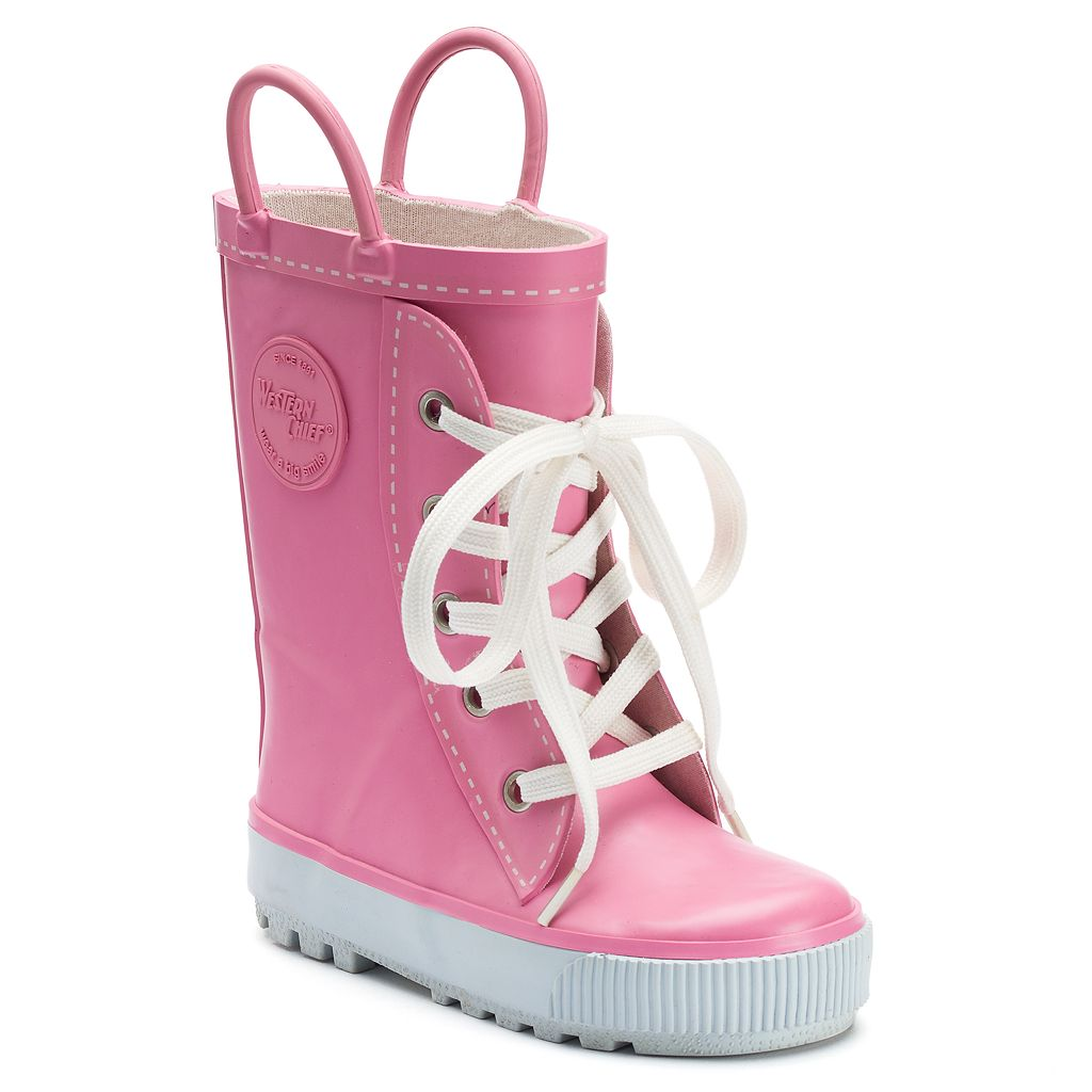 Western Chief Sneaker Boot Toddler Girls' Waterproof Rain Boots