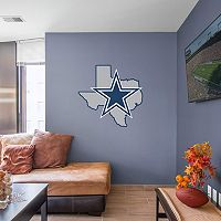 Dallas Cowboys State Logo Wall Decal by Fathead