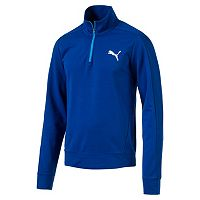 Men's PUMA Quarter-Zip Fleece Pullover