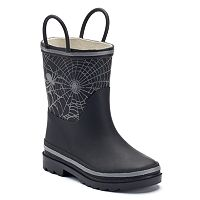 Western Chief Bright Web Reflective Kids' Waterproof Rain Boots