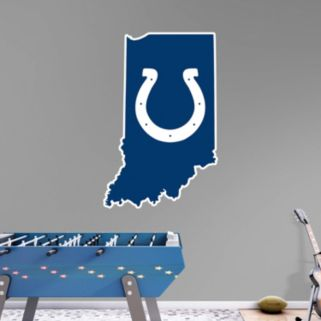 Indianapolis Colts State Logo Wall Decal by Fathead