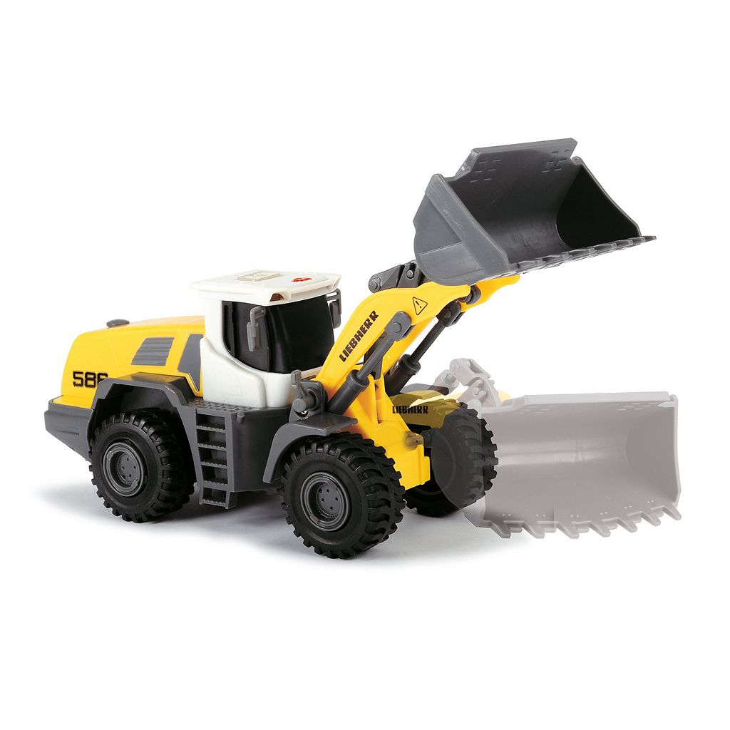 Dickie Toys Liebherr Construction Team with Liebherr L538 Front Loader Set