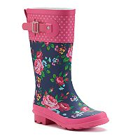 Western Chief Rosie Girls' Waterproof Rain Boots