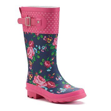 Western Chief Rosie Girls' Waterproof Rain Boots