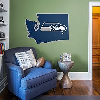 Seattle Seahawks State Logo Wall Decal by Fathead
