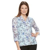 Women's Napa Valley Print Lace Top with Tank
