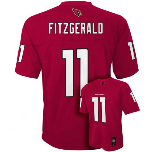 Boys 8-20 Arizona Cardinals Larry Fitzgerald NFL Replica Jersey