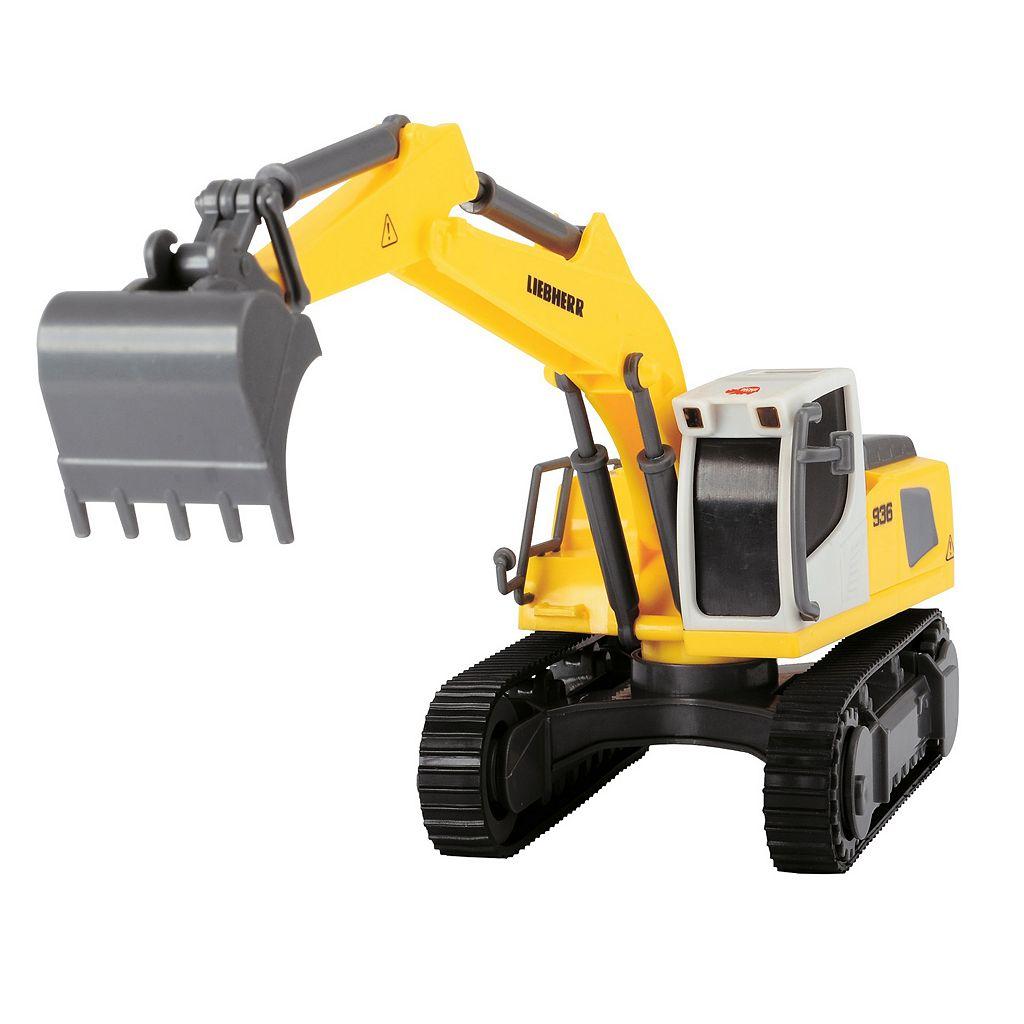 Dickie Toys Liebherr Construction Team with Liebherr R936 Excavator Set