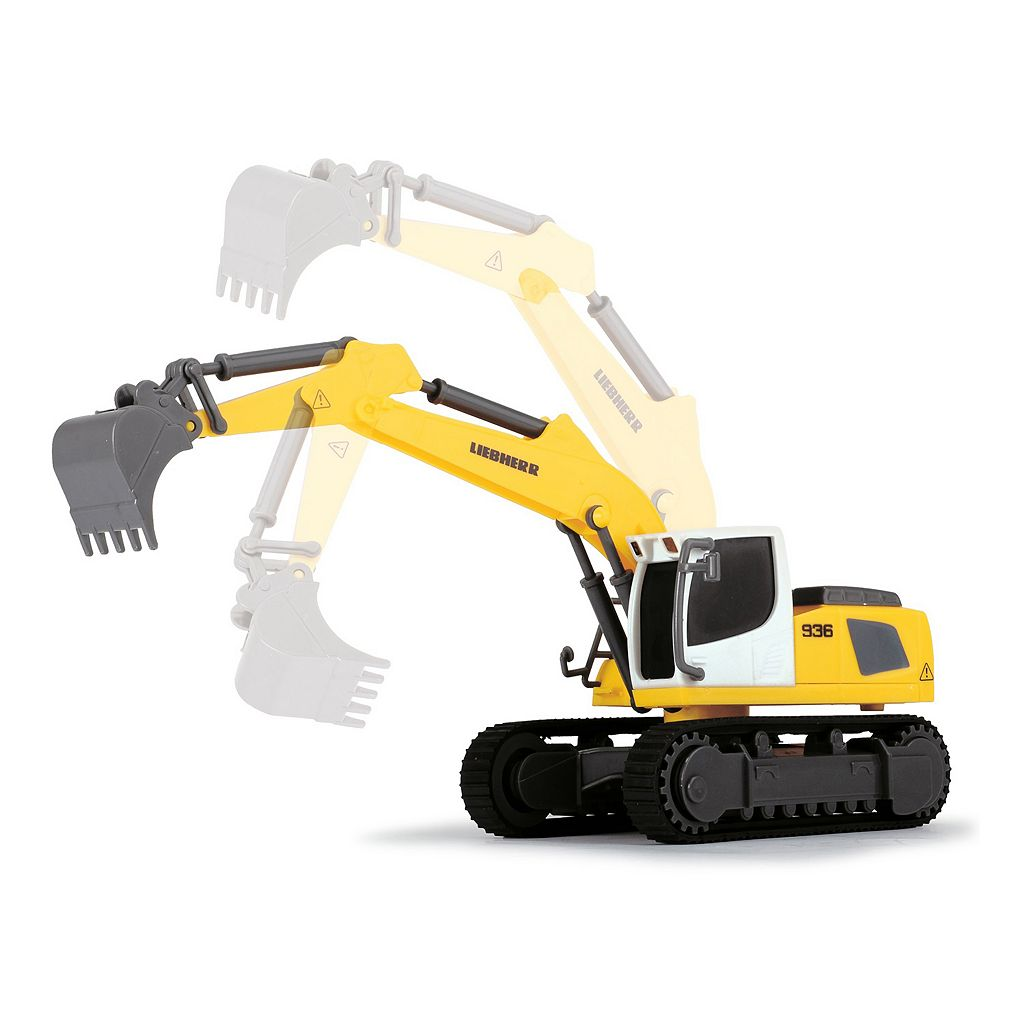 Dickie Toys Liebherr Construction Team with Liebherr R936 Excavator Set
