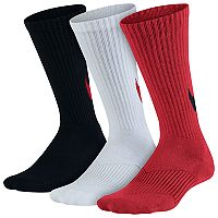 Boys Nike Logo Performance Crew Socks