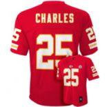Boys 8-20 Kansas City Chiefs Jamaal Charles NFL Replica Jersey