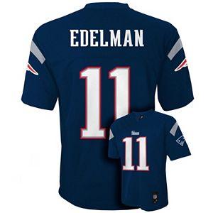 Boys 8-20 New EnglandPatriots Julian Edelman NFL Replica Jersey