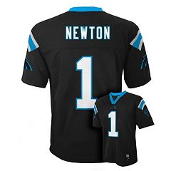 Boys 8-20 Carolina Panthers Cam Newton NFL Replica Jersey