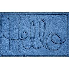 WaterGuard ''Hello'' Indoor Outdoor Mat - 24'' x 36''