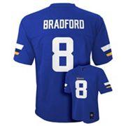 Boys 8-20 Minnesota Vikings Sam Bradford Replica Jersey