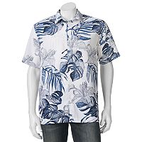 Men's Havanera Classic-Fit Floral Button-Down Shirt