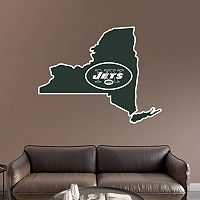 New York Jets State Logo Wall Decal by Fathead