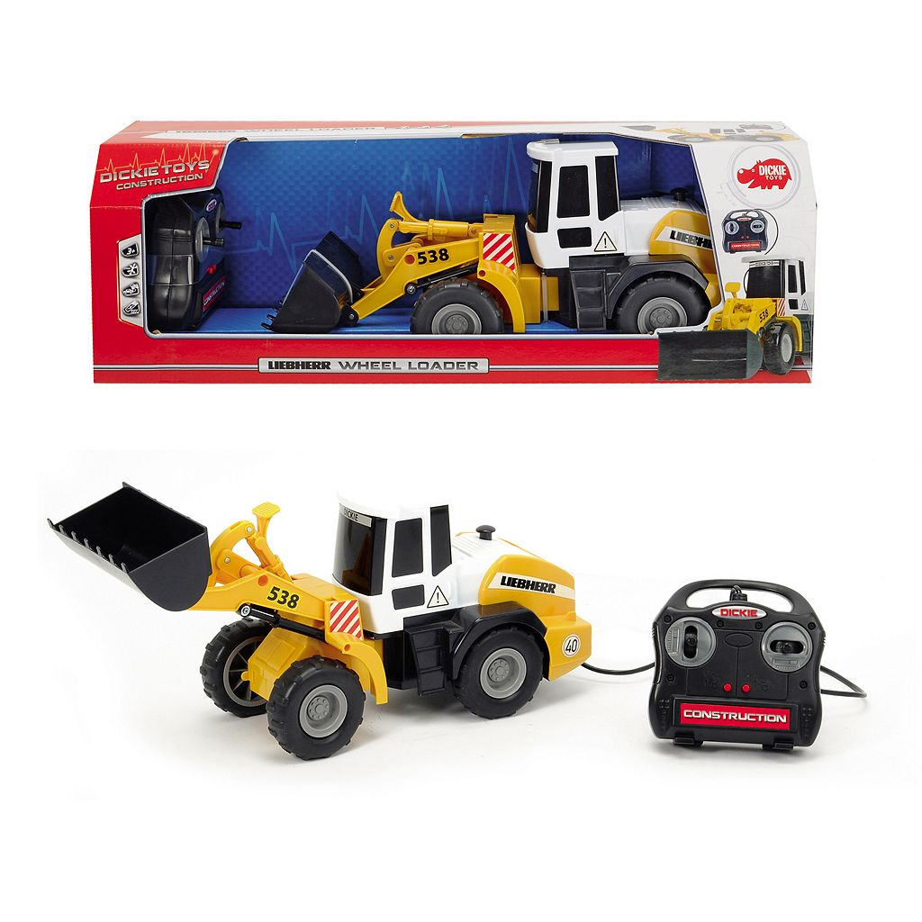 Dickie Toys Remote Control 21-in. Construction Wheel Loader Vehicle