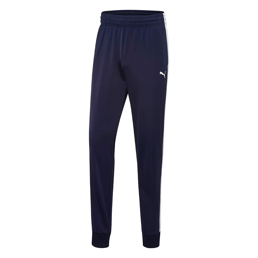 Men's PUMA Contrasting Stripe Jogger Pants