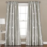 Half Moon 2-pack Bird on the Tree Window Curtain