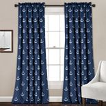 Half Moon 2-pack Anchor Window Curtains
