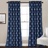 Half Moon 2-pack Anchor Curtain