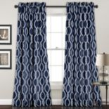 Half Moon 2-pack Rope Knot Window Curtain