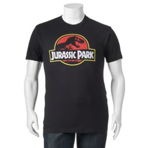 Big & Tall Fifth Sun Jurassic Park Logo Tee