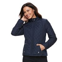 Women's Weathercast Solid Quilted Jacket