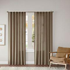 Madison Park 2-pack Harlow Dobby Jacquard Window Curtains