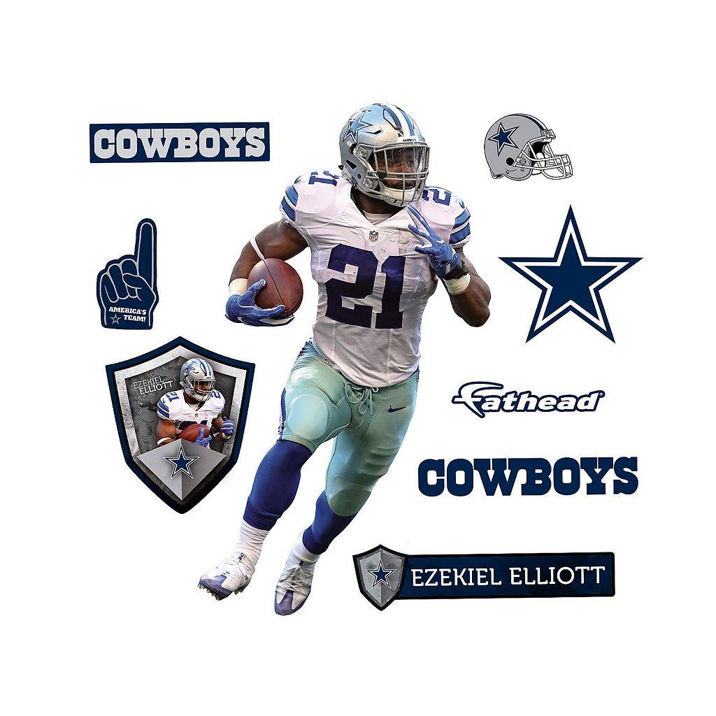 Dallas Cowboys Ezekiel Elliot Wall Decal by Fathead