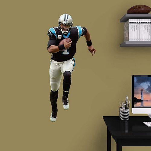 Carolina Panthers Cam Newton Wall Decal by Fathead