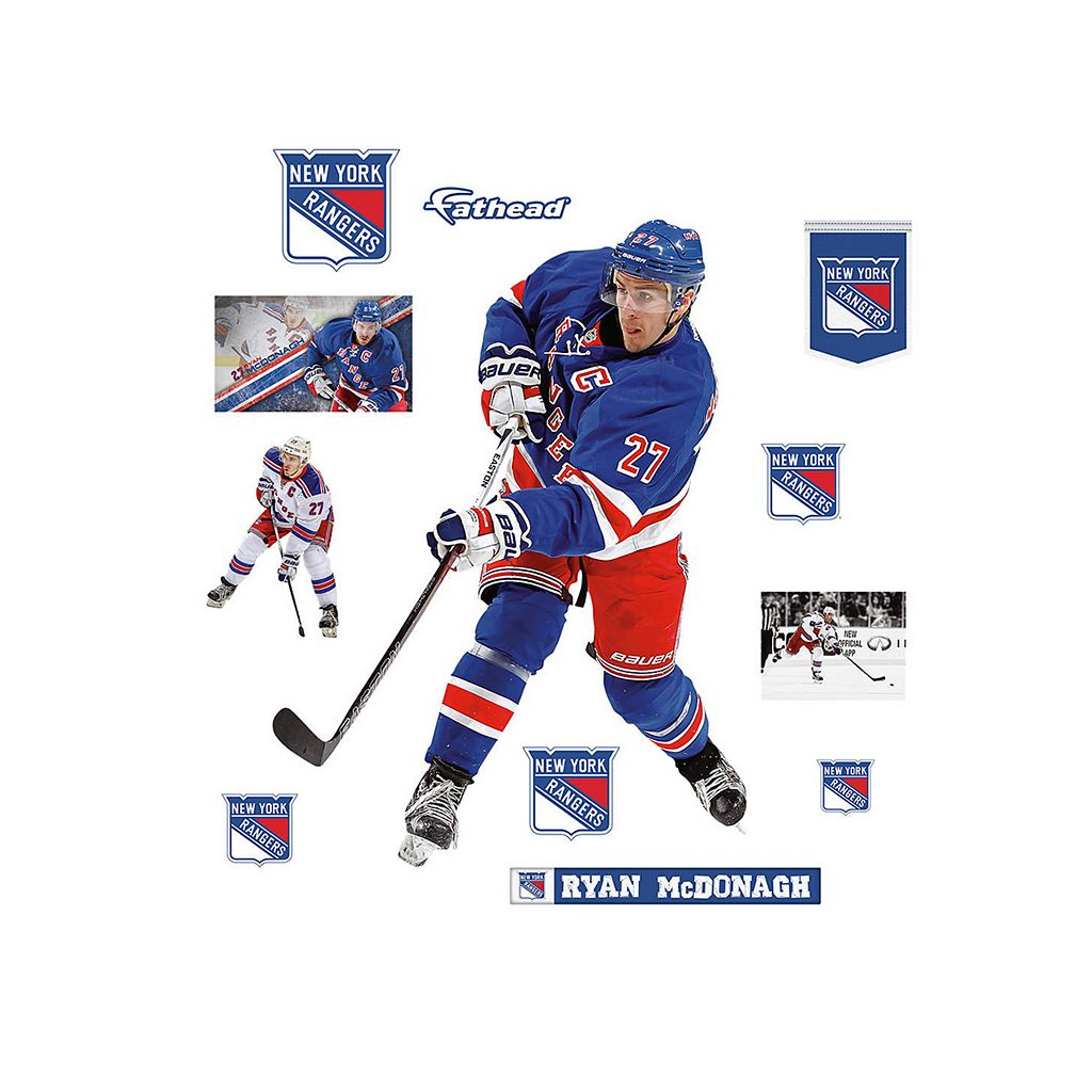 New York Rangers Ryan McDonagh Wall Decal by Fathead
