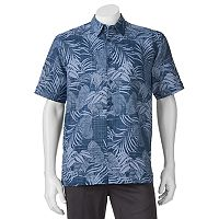 Men's Havanera Classic-Fit Floral Linen-Blend Button-Down Shirt
