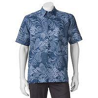 Men's Havanera Classic-Fit Floral Linen-Blend Button-Down Shirt