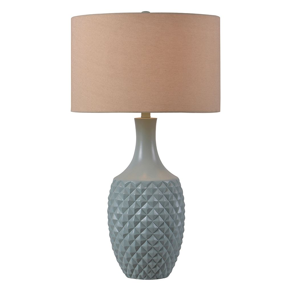 Kenroy Home Anaya Geometric Table Lamp
