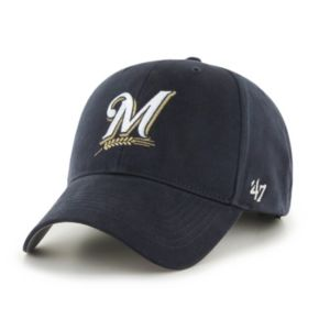 Youth '47 Brand Milwaukee Brewers MVP Adjustable Cap
