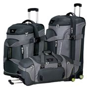 High Sierra Wheeled Drop-Bottom Duffel Bag - 26-in.