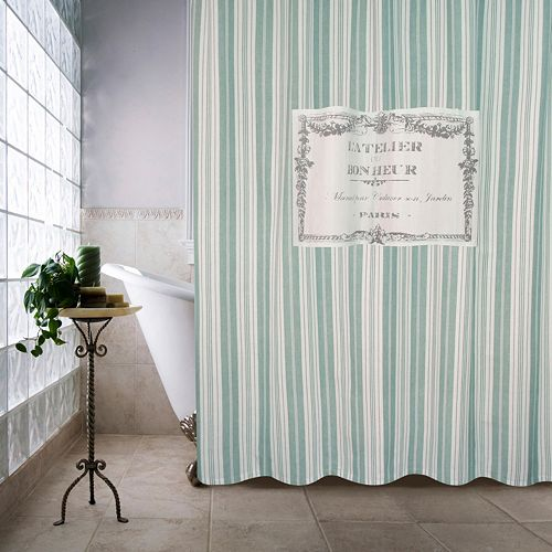 Park B. Smith Bonheur Shower Curtain